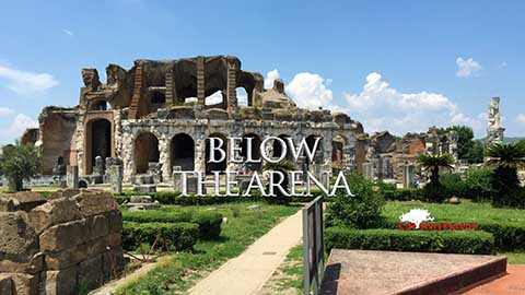 Below the Arena
